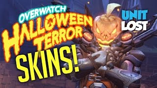 All Overwatch Halloween Terror Loot Items! (SKINS, EMOTES, VOICE LINES, SPRAYS & More)