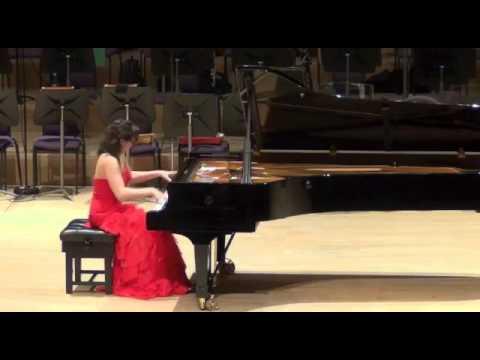 Diana Brekalo performing Dante Sonata by Franz Liszt