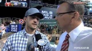 Friends with Benefits' Justin Timberlake Professes His Love For Beer on Major League Baseball!!