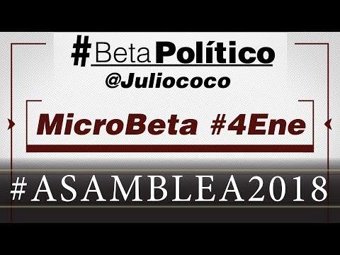 #MicroBeta #Asamblea2018 #4Ene (Audio)