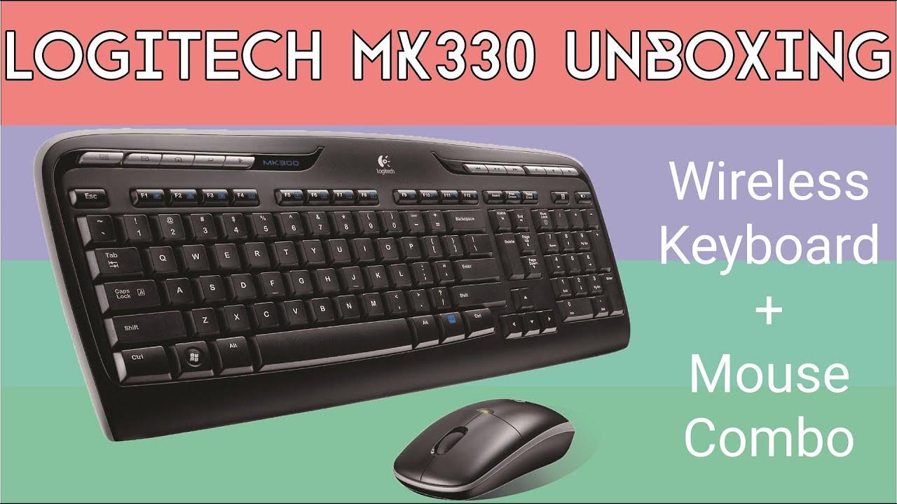Logitech MK330 Wireless Combo Unboxing