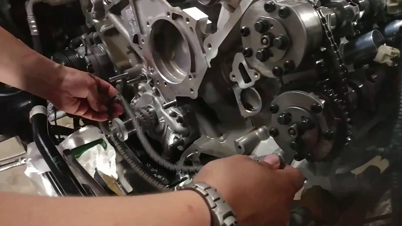 2015+ Timing Chain Install
