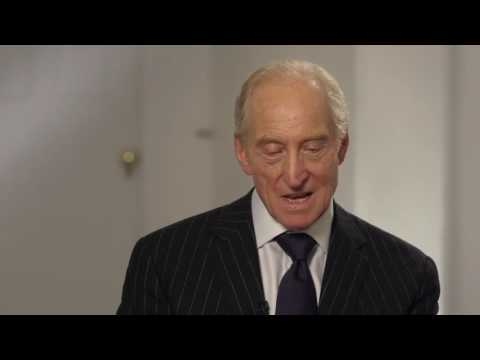 "Me Before You: Charles Dance ""Stephen Traynor"" Behind the Scenes Movie Interview"