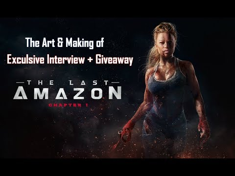 THE LAST AMAZON - EXCLUSIVE INTERVIEW + GIVEAWAY!