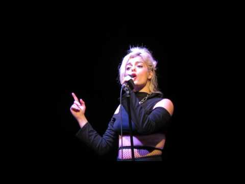 Bebe Rexha performing No Broken Hearts- Just Show Up Show- Birmingham, Alabama