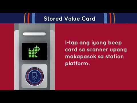 Paano makakuha ng beep™ stored value card? [DRAFT]