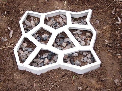 Где купить формы для тротуарной плитки в Брянск - YouTube