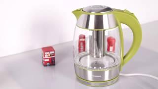 Fierbator cu filtru pentru ceai HEK TF2200 GR gama Charm de la Heinner(Gama Charm de la Heinner aduce culoare in bucataria ta: visiniu, verde si albastru. Cu noua gama de la Heinner faci vraji in bucataria ta! Alege-ti culoarea ..., 2016-11-07T11:44:45.000Z)
