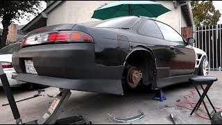 240SX OVERFENDERS ARE ON!
