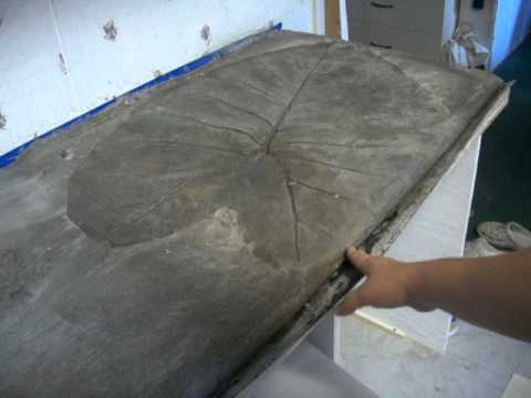 Redneck Mansion Kitchen Remodel Concrete Countertop - YouTube