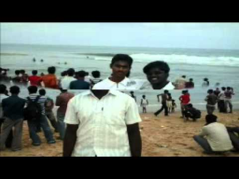 sholavaram vijay in beach