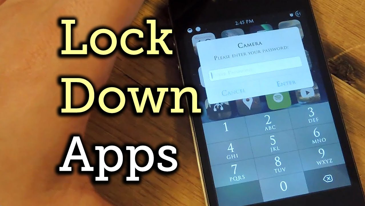 Password-Protect Individual Apps on Your iPhone for Extra Added Security  [How-To]