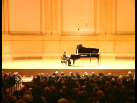 Cyprien Katsaris live at Carnegie Hall, New York - Chopin: Sonata No. 3, Op. 58 (I)