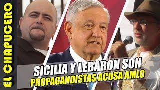 AMLO le da golpe mortal a marcha de Sicilia y LeBarón. ¡Son propagandistas de Borolas!