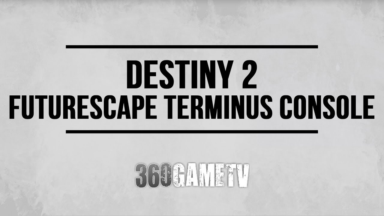 Location Console Destiny 2 Futurescape Terminus Console Node Location Sleeper Simulant Nodes Location