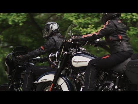 Vanocker Waterproof H-D Triple Vent System Leather Jacket | Harley-Davidson