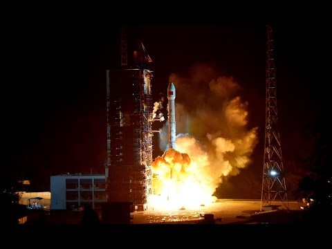 Chinese Long March 3B launches Alcomsat-1, 10 December