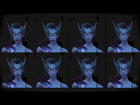 Void Elf | Allied Race | Voices - Cosmetics - Hair Style - Battle for Azeroth