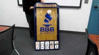 BBB Serving Greater Cleveland Plinko Board