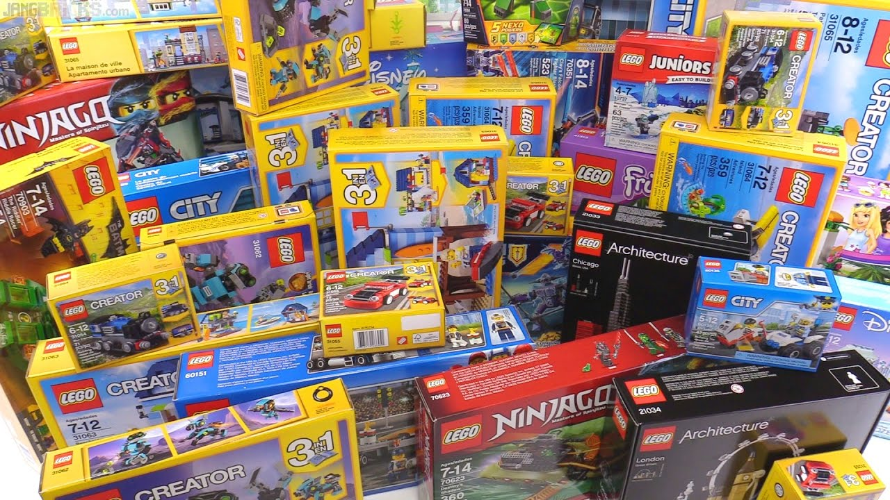 My Biggest Lego Haul From Toys R Us Ever 174 Youtube