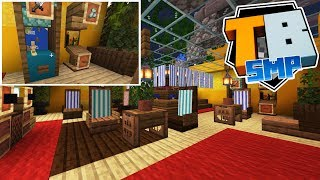 Truly Bedrock - Episode 11 - The Puffer Lounge & Arcade! - Minecraft SMP [1.10]