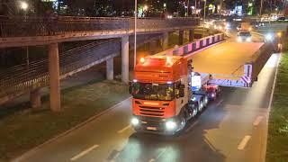 "Video ""Megatransport"" na ulicach Zielonej Góry. Gigantyczny element trafi do Rafinerii w Bonn download MP3, 3GP, MP4, WEBM, AVI, FLV November 2018"