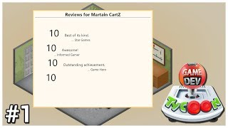 Game Dev Tycoon - #1 - Perfect 10 (ish...) - Let