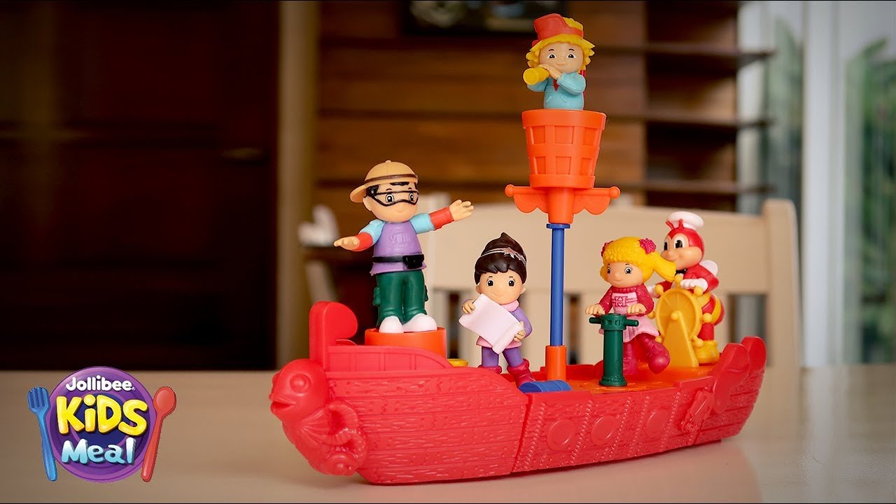 2019 Jollibee Sea Adventure Jolly Kiddie Meal Toys