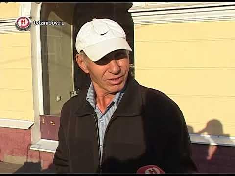 Продавцы грибов в центре Тамбова бросили прилавки, увидев Роспотребнадзор