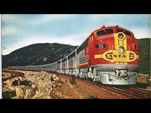BBC DOCUMENTARY: Santa Fe Railroad, Fresh Food For Health - 1956