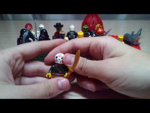 Лего ужасы (самоделки)