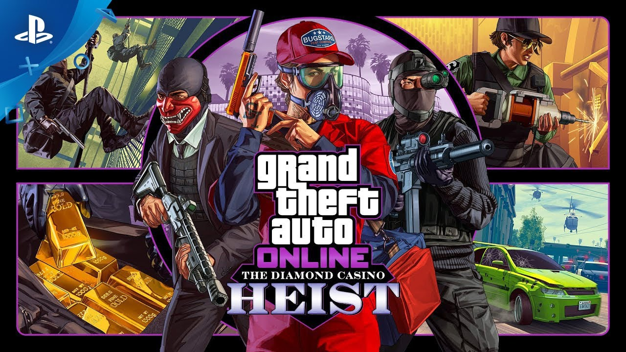 GTA Online - The Diamond Casino Heist | PS4