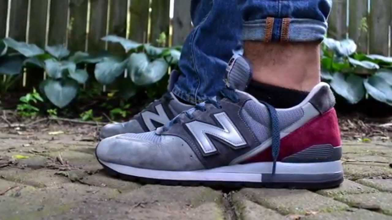 best website 2e7f6 08aed New Balance M996GK (Made In USA) On Feet - YouTube