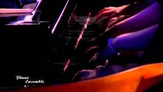''Piano Ensemble'' concert. Lavignac ''Galop Marche'' 8 hands 1 piano