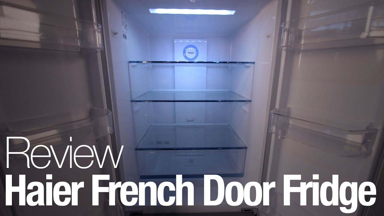 Haier Hrf15n3ags French Door Refrigerator Review Youtube