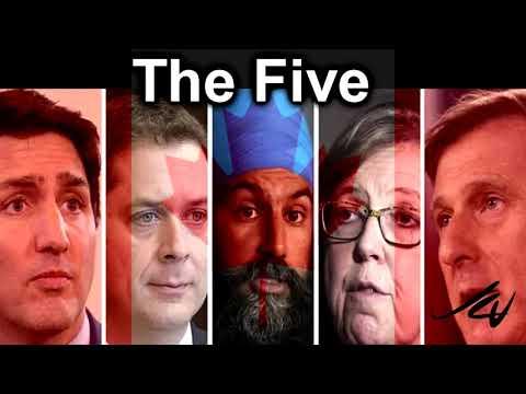 6 Leaders, 5 Female Moderators -  Leaders Debate Tonight - PPC Needs You