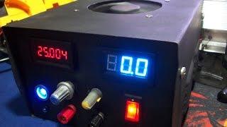 Fuente Regulable de 0 a 25 Voltios DC a 10 Amperios MODIFICADA (PARTE 4)