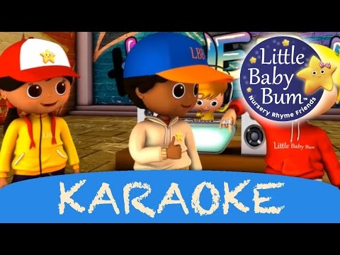 karaoke: Head Shoulders Knees & Toes | Instrumental Version With Lyrics from LittleBabyBum!