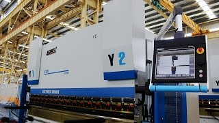accurl press brake 4 axis cnc   ecopower technology   bending machines metal working machinery