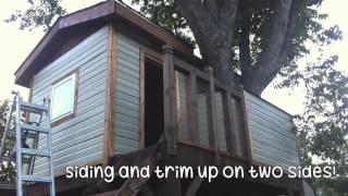 The Making Of Our Tree House...