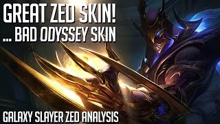 A very slick, cool skin that just doesn't fit in || Galaxy Slayer Zed analysis (story & design)