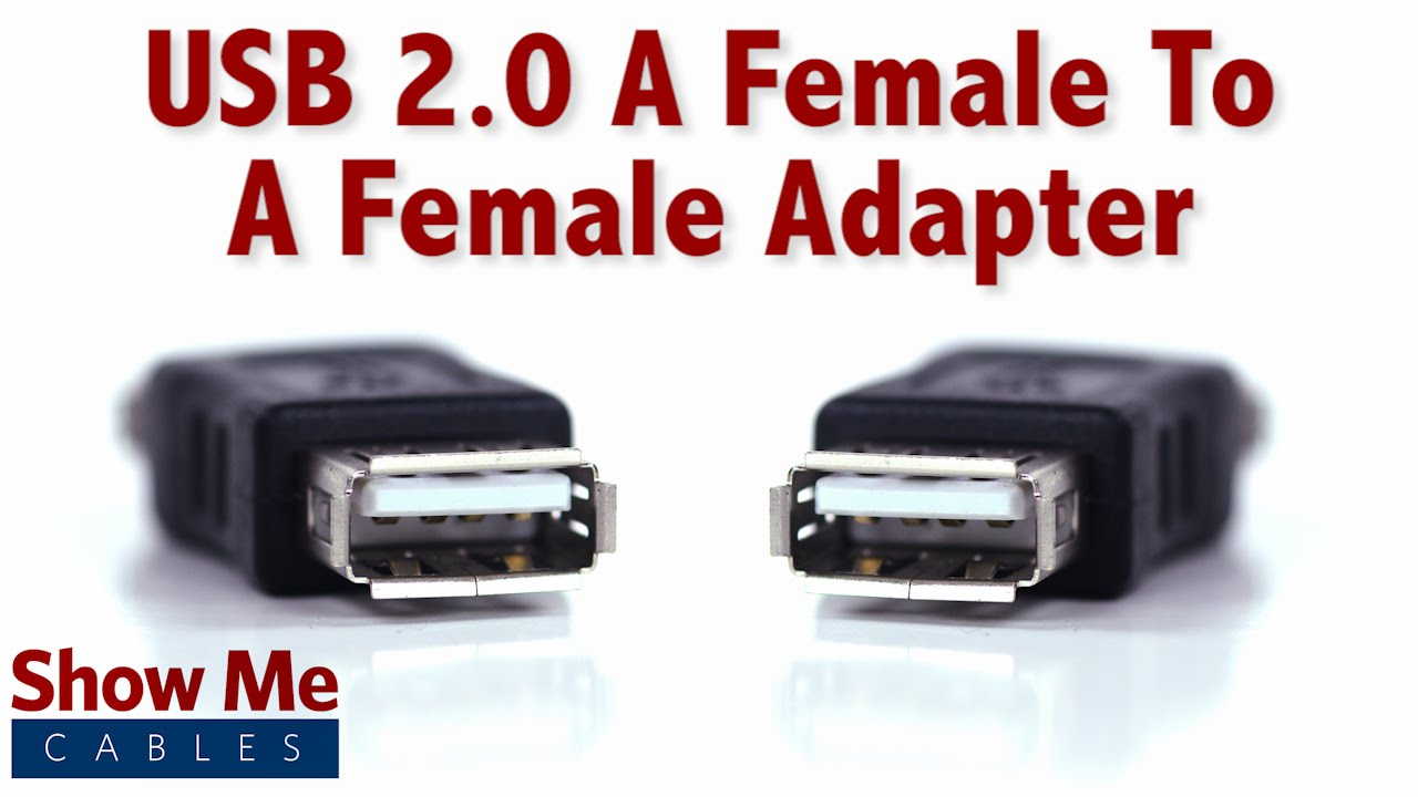 easy to use usb 2 0 a female to a female quickly change connection types 3500 [ 1280 x 720 Pixel ]