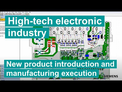 New Product Introduction (NPI) and Manufacturing Execution (MES) in Electronic Industry