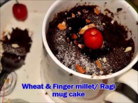 EggLess Ragi Cake (Finger Millet Cake) ( NO MAIDA)