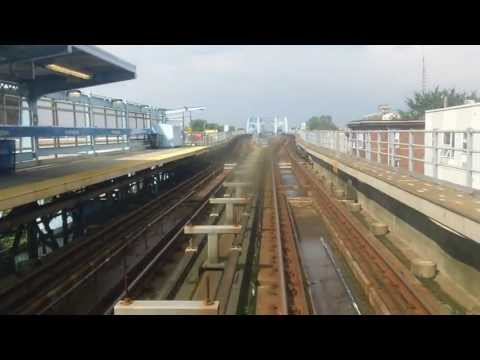 Driver's View of Subway on Market/Frankford Line in Philadelphia