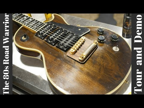 1977 Gibson Les Paul Artisan Demo | An 80s Road Warrior