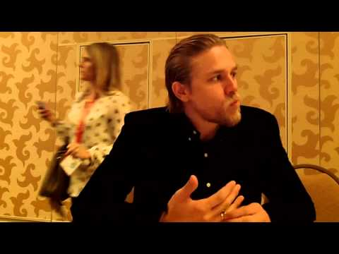 Interview With Charlie Hunnam from FX's Sons of Anarchy at Comic-Con 2012