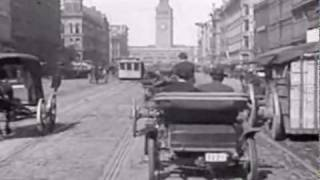 San Francisco 1906 with music by Air - La Femme D