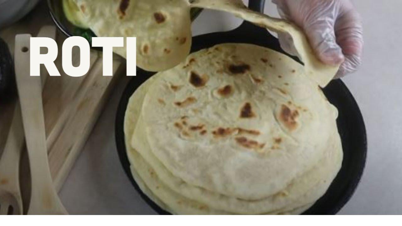 Roti (Indian-style flatbread)