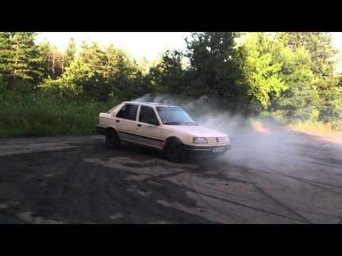 Peugeot 309 GRD Burnout part1